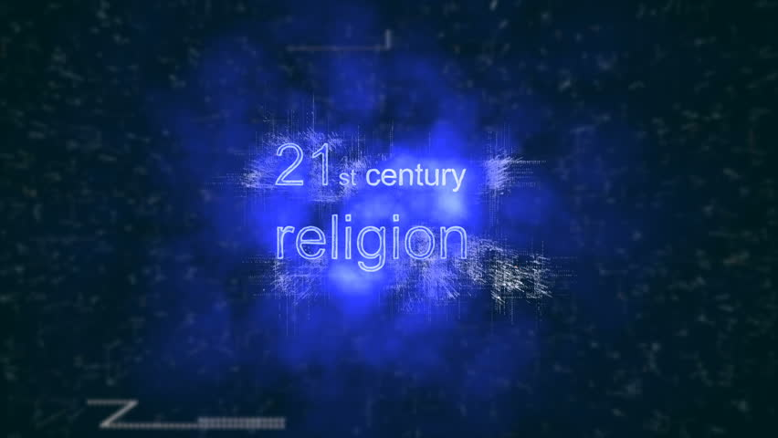 21st century religion. Binary numeral system. Digital Universe. Technological background.