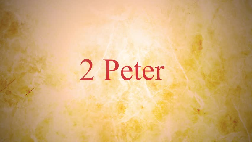 Header of 2 Peter