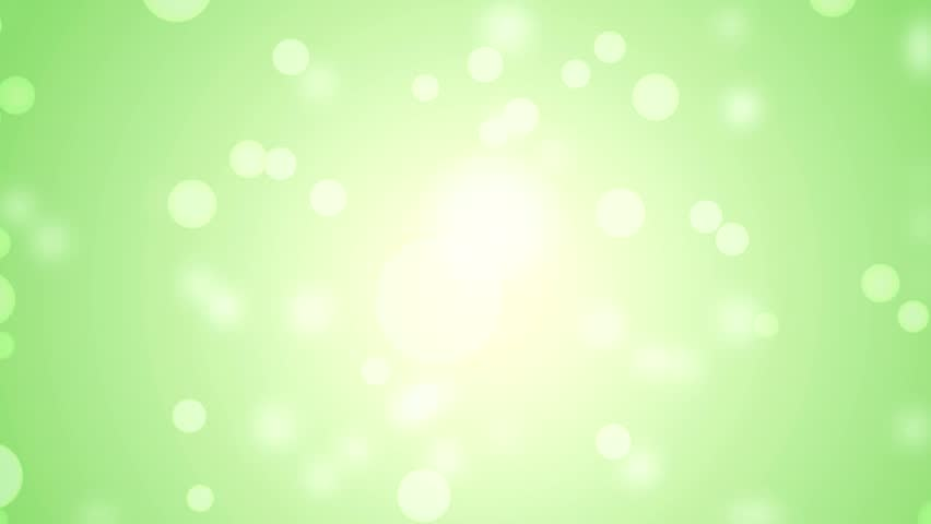 lights green background high definition abstract motion