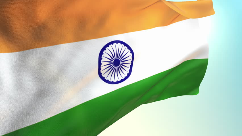 For Indian Flag Hd Animation: India Map Flag With Moving Binary Background Animation