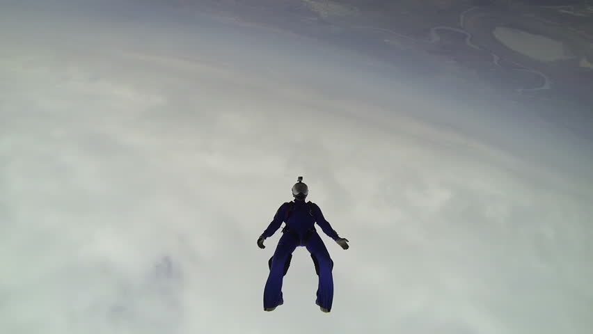 Skydiving video.   Shutterstock HD Video #10570289