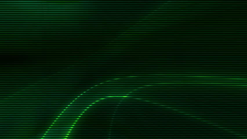 Looping Green Abstract Animated Backdrop