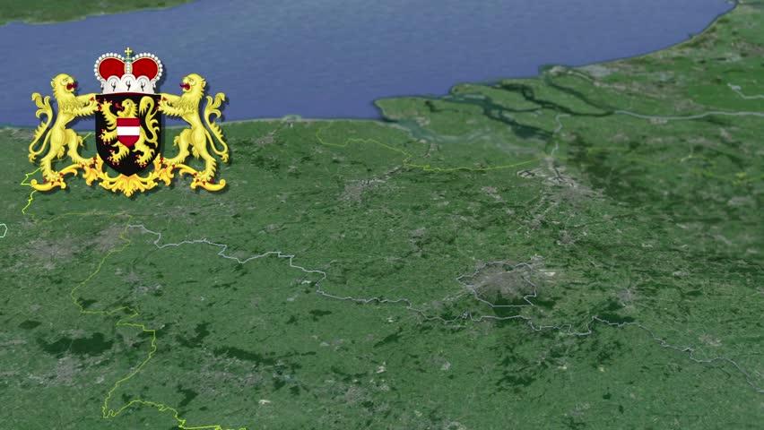 Namur White Coat Of Arms Animation Map Provinces Of Belgium Namur – Belgium Provinces Map