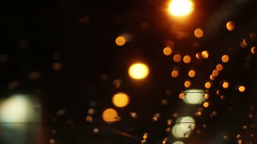 Blurry lights on road through rear window of car loopable  | Shutterstock HD Video #10921784