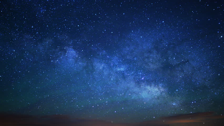 Monument Valley Milkyway 16 Time Lapse Stars