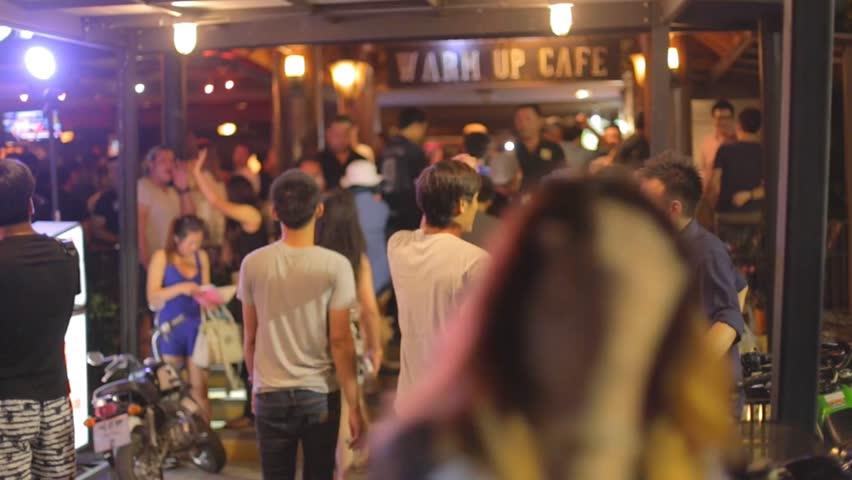 CHIANG MAI,THAILAND - CIRCA August 2015 :Young thai at local bar nightclub | Shutterstock HD Video #11381948