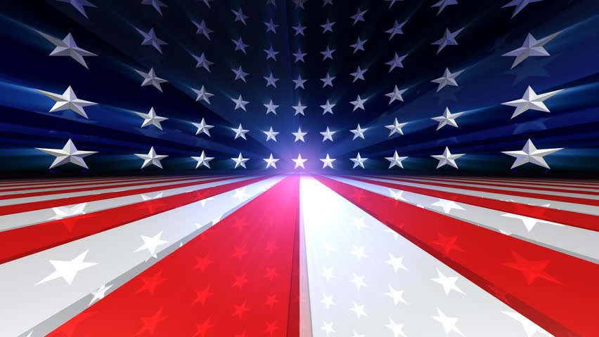 Moving Through Yuan Spheres To China Map Flag Animation Stock - China map in us flag