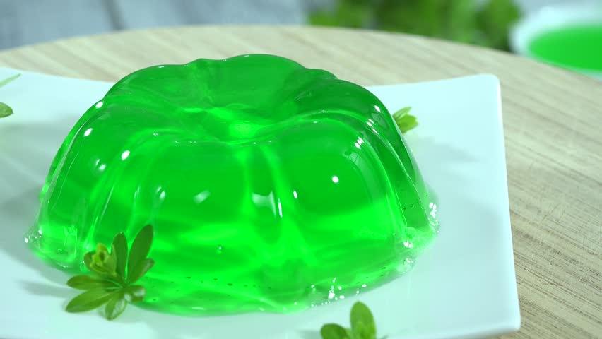 Lime Jello Dessert