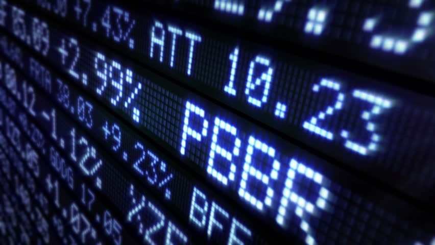 Stock Market Tickers. Loopable. Blue. Zoom out. 3 videos in 1 file. Digital animation of Stock Market prices passing by. Lateral and frontal view with zoom out. More options in my portfolio. | Shutterstock HD Video #11746001