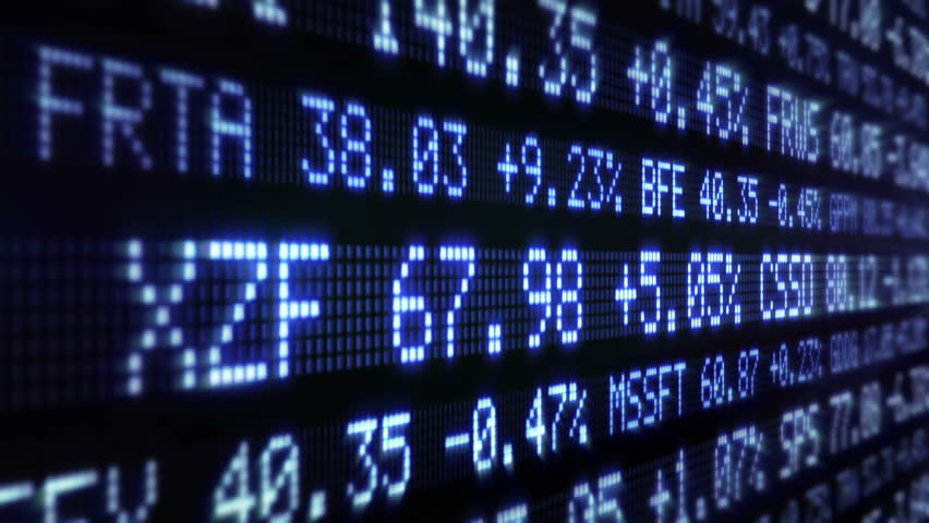 Stock Market Tickers. Loopable. Blue and Green. 2 videos in 1 file. Digital animation of Stock Market prices passing by. Lateral view. More options in my portfolio. | Shutterstock HD Video #11746118