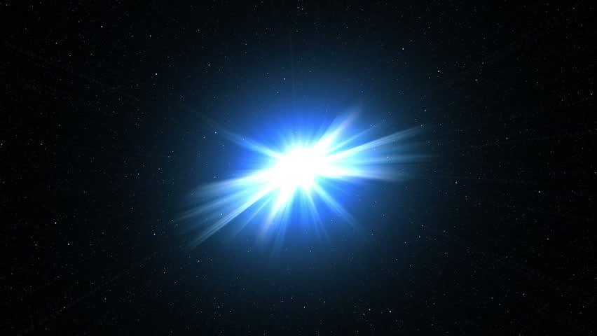 Blue Galactic explosion | Shutterstock HD Video #11843657