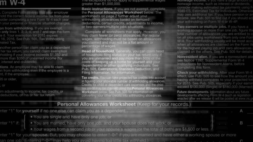 Tax Refund Footage Video Shutterstock – State Tax Refund Worksheet