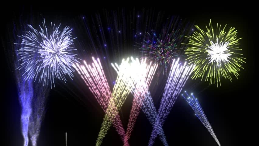 Fireworks Stock Footage Video 9095501 - Shutterstock