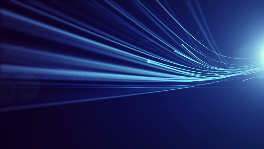 Optical Fibers Animation Abstract Motion Background Stock