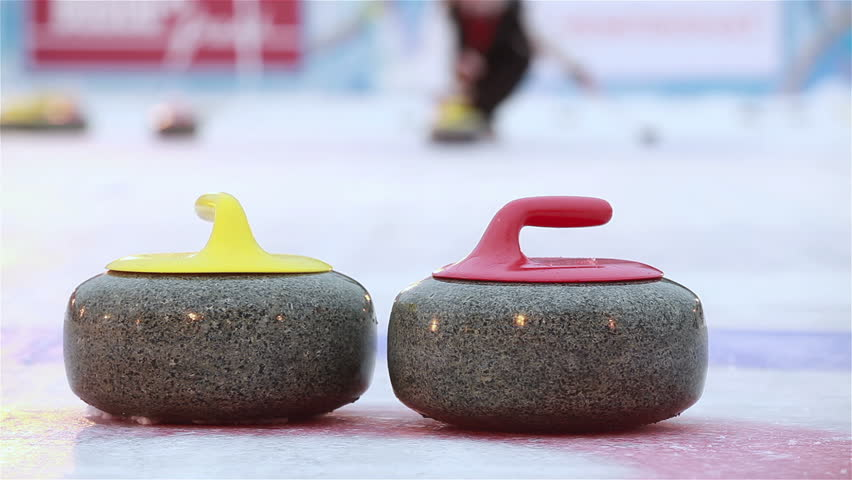 Curling stones  Etsy