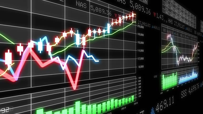 Business Data Graph. | Shutterstock HD Video #12320798
