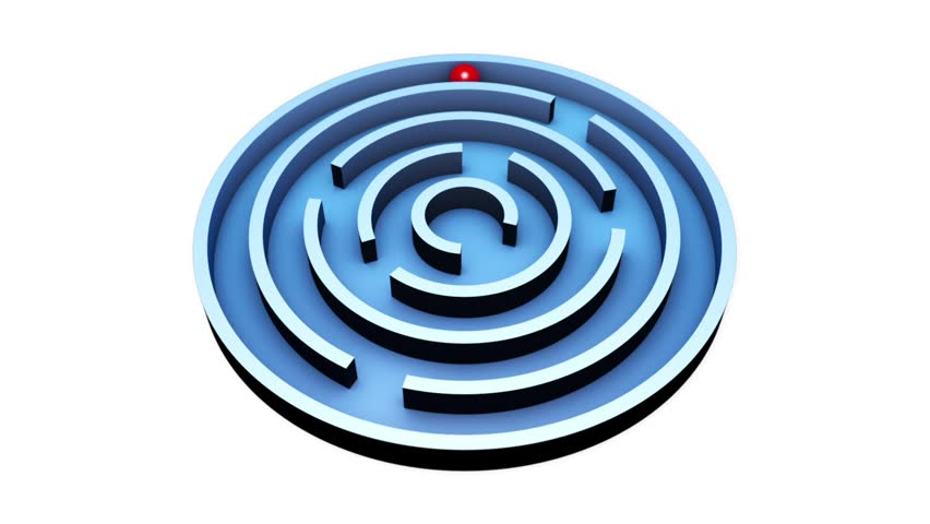 Wisdom  (Round Maze)