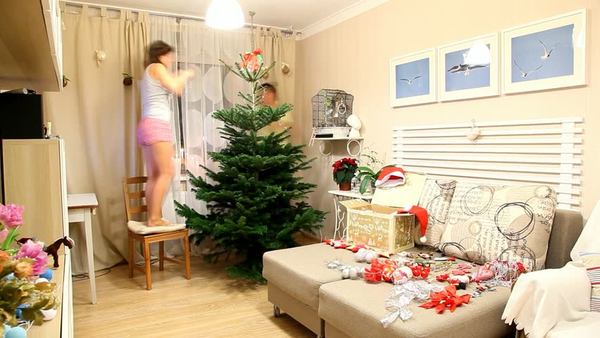 Where To Put A Christmas Tree In A Small Room. Excellent Best ...
