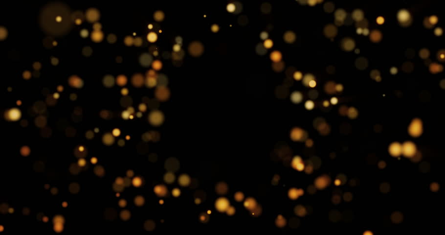 Abstract background with shining bokeh sparkles. Smooth animation looped. With a central place for your logo\text. Abstract golden bokeh particles seamless loop | Shutterstock HD Video #12915071