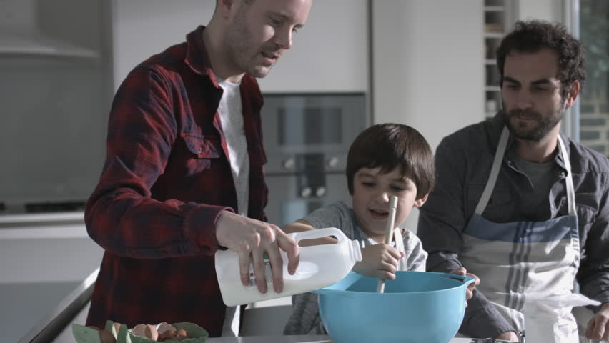Gay Family Stock Footage Video - Shutterstock-5429