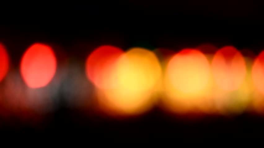 Defocused night traffic lights-Songkhla   Shutterstock HD Video #13179227