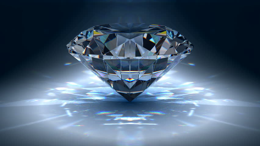 Gem jewelry rotating