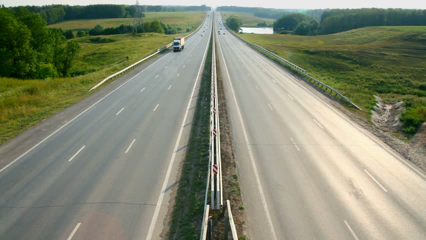 cars traveling on the highway