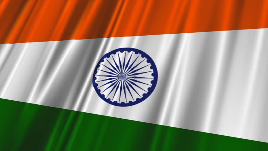 For Indian Flag Hd Animation: Flag Of India Beautiful 3d Animation Of India Flag In Loop