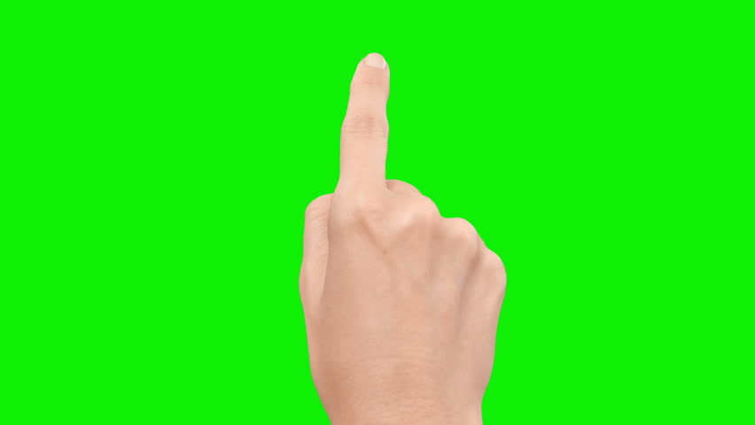 Set of 13 hand touchscreen gestures, showing the uses of computer touchscreen, mobile phone, tablet or trackpad. Female hand. Green screen. Mobile phone.   Shutterstock HD Video #13807286