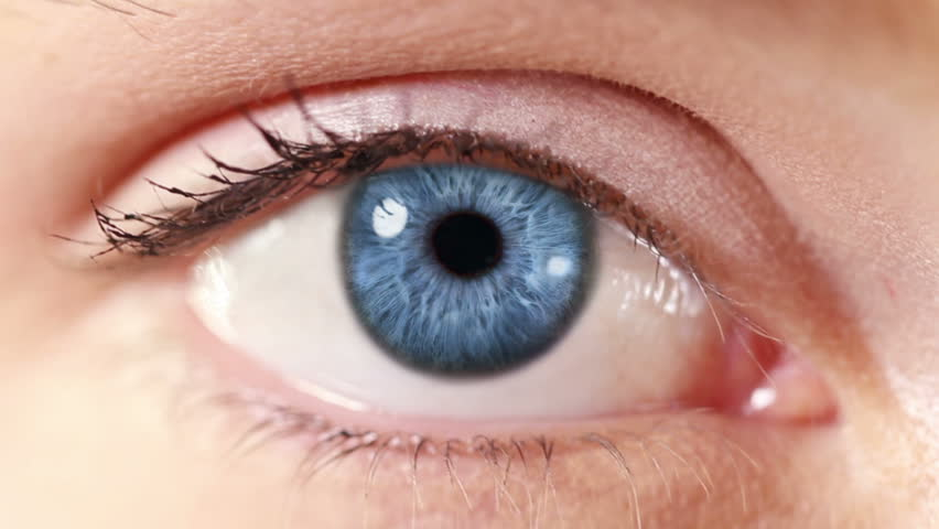 Tunnel. Eye. Blue. Zoom in from a blue human eye to a tunnel animation. Technology background. | Shutterstock HD Video #13807607