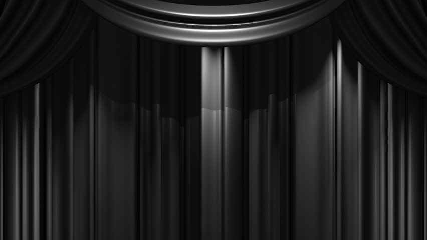 Curtains Ideas black theater curtains : Black Stage Curtain Stock Footage Video - Shutterstock
