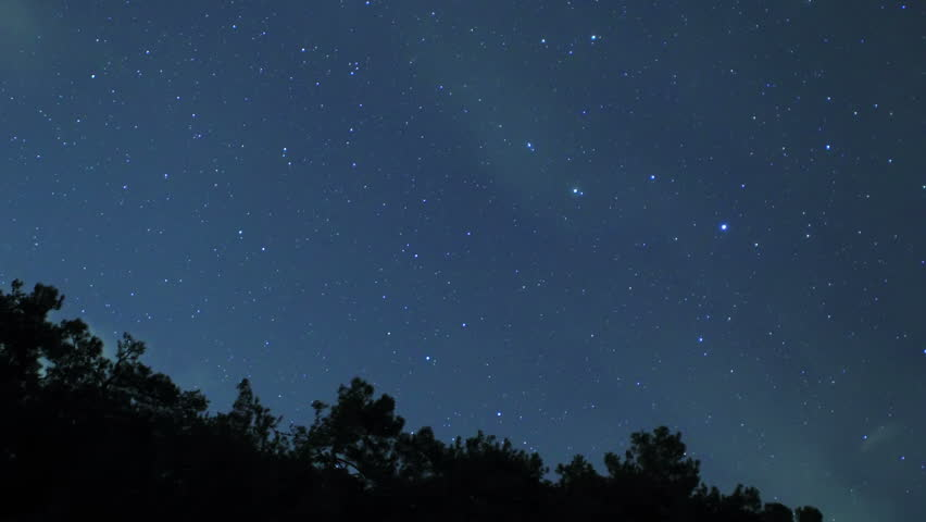 Starry night over the black sea pitsunda abkhazia full - Starry sky 4k ...