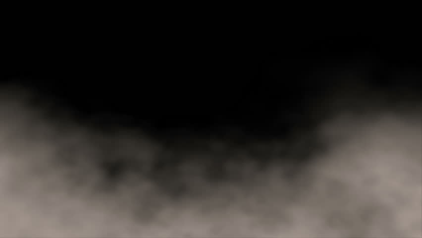 Video Background 1312: 3D animated background of billowing ground fog swirling (Video Loop).