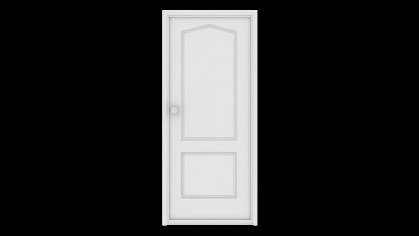 If Light At End Of Tunnel Is Green You >> Door Opening To A Bright Light. Alpha Channel Is Included. HD 1080. Stock Footage Video 2600789 ...