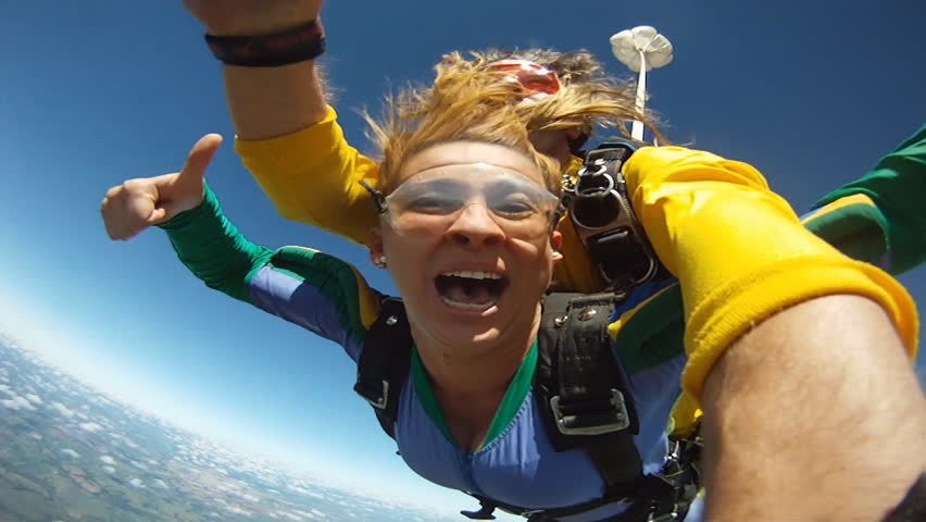 Skydiving tandem funny