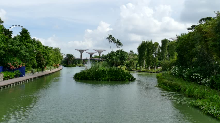 Garden By The Bay Water Park gardenthe bay stock footage video - shutterstock
