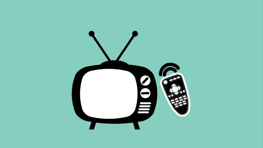 Media Television And Telecommunication Business Animated Icons Set ...