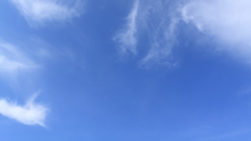 moving clouds and blue sky time lapse  | Shutterstock Video #1458256