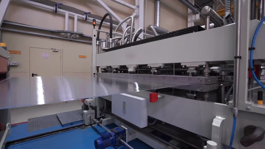 The Modern Automated Production Line. Polycarbonate Production.   | Shutterstock HD Video #14592781
