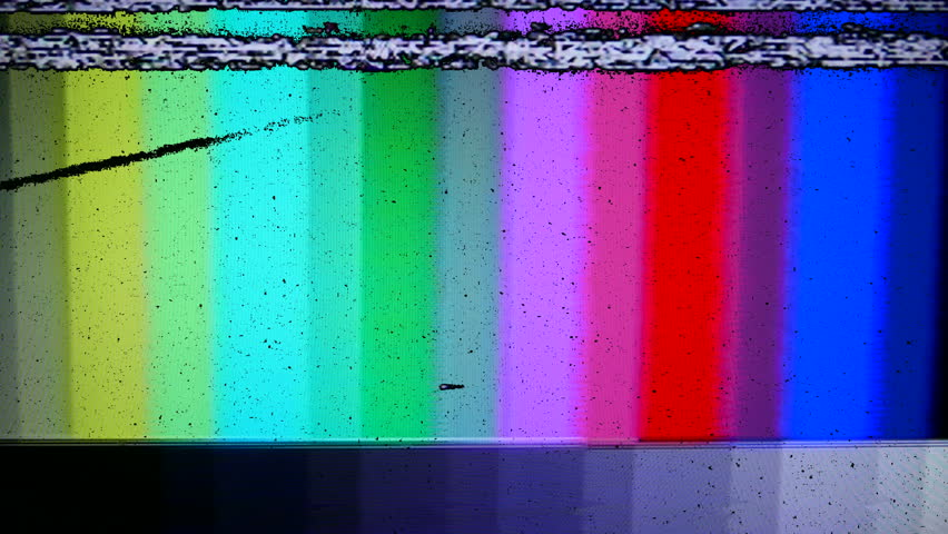 VHS Tape Color Bars Test Pattern Damage. Color bars test pattern. All original elements manipulated on analog tape, captured with a 4K camera and assembled in Adobe Premiere.