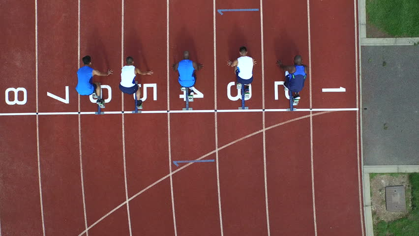 Glade: A cell is like a track  |Running Track Birds Eye View
