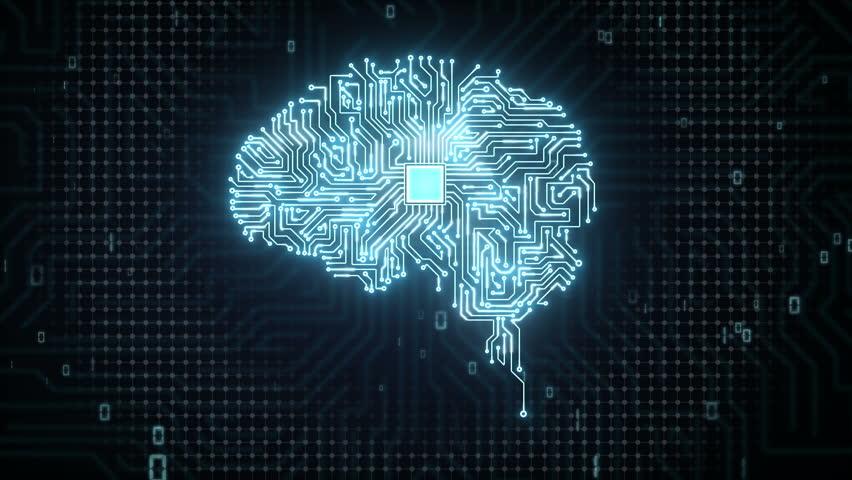 Brain CPU chip, grow artificial intelligence   Shutterstock HD Video #15450454