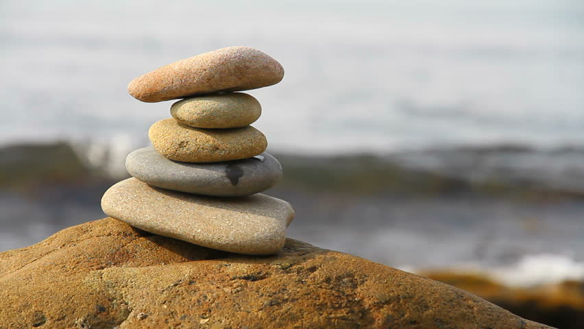Stacked Stones Stock Footage Video - Shutterstock