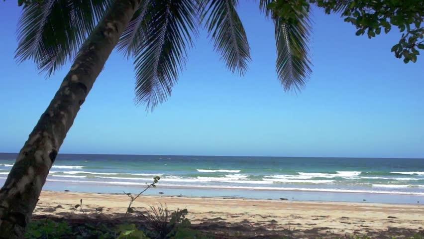Tropical beach . Blue ocean. White sand. Seascape. Philippines. Palawan Island . | Shutterstock HD Video #16044184