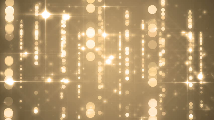 Glamorous Golden Curtains Loop Stock Footage Video 3813275 ...