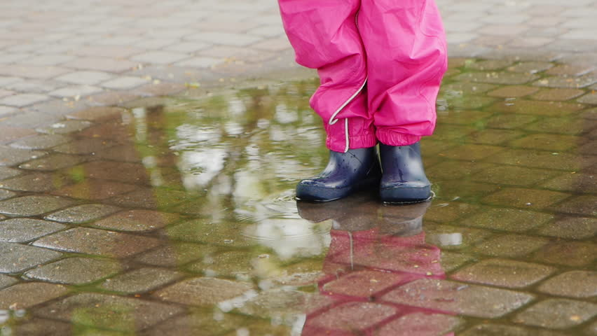 puddle girl essay Download this stock image: cute little girl outline drawing playing in a water puddle while holding an umbrella in the rain - c47ajd from alamy's library of millions of high resolution stock photos, illustrations and vectors.