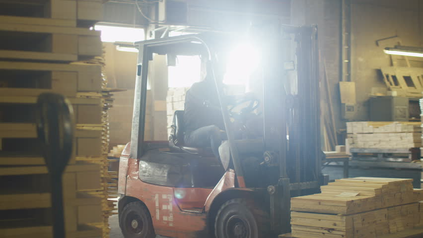 Lift truck footage page stock clips