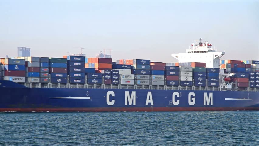ISTANBUL - SEPTEMBER 24: Cargo Ship, Corneille (IMO: 9409170, Liberia) sails