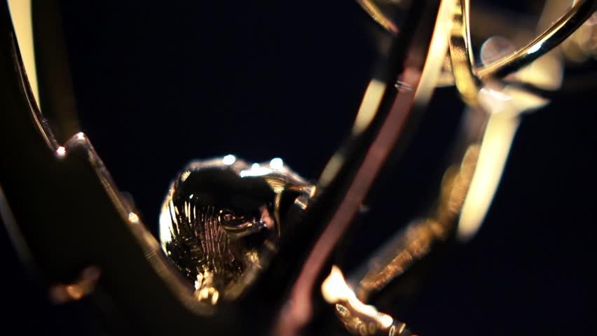 Emmy Award Transition close up