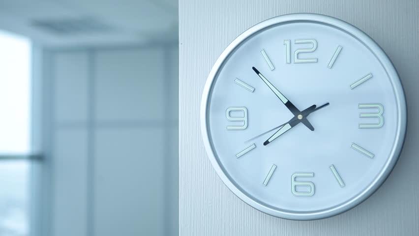 Timelapse of office clock showing 8/Timelapse of Office Clocks   Shutterstock HD Video #16350856